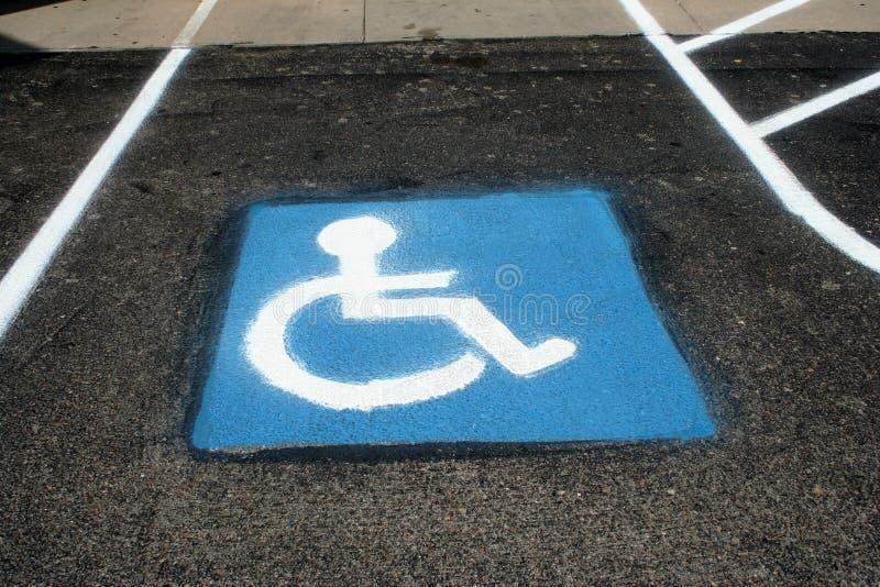 Handicapé garant 3 photographie stock libre de droits