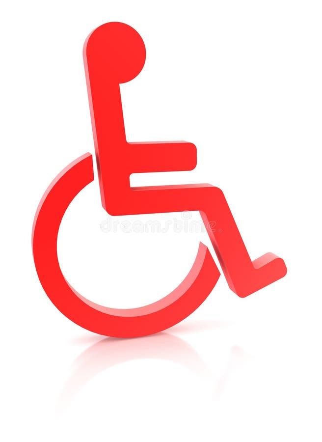 Handicap stock illustratie