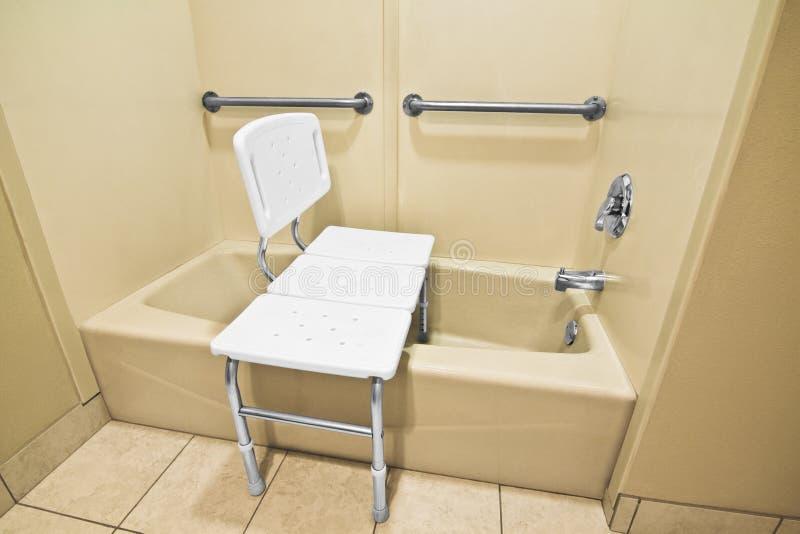 Handicap Bathing Chair stock photo. Image of plastic - 33228890