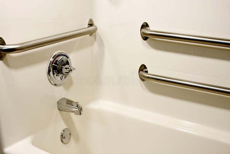 Handicap bathtub royalty free stock photo