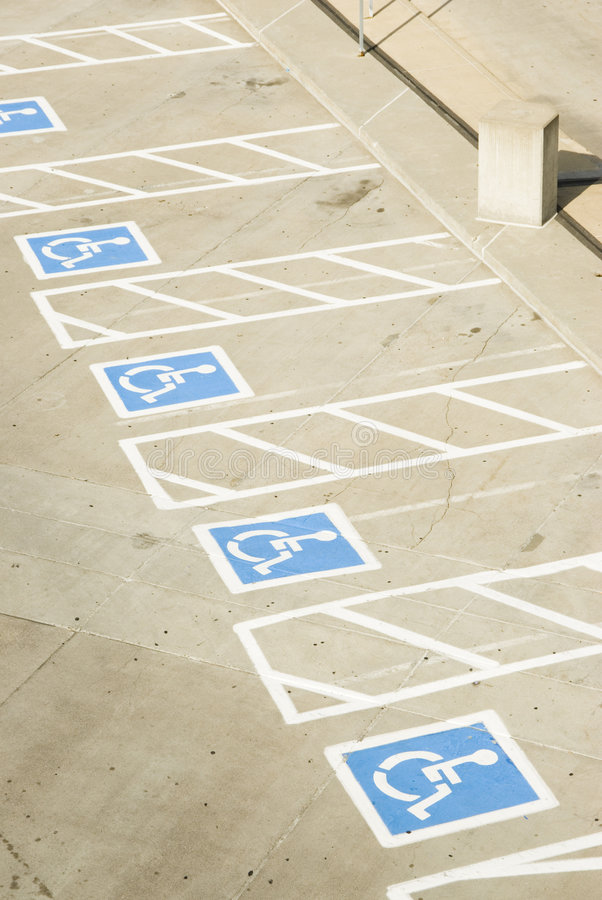 Download Handicap parking 2 stock photo. Image of spaces, disabled - 2683920