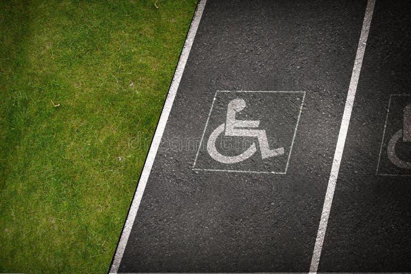 Download Handicap Parking Spot stock illustration. Illustration of protection - 31977035