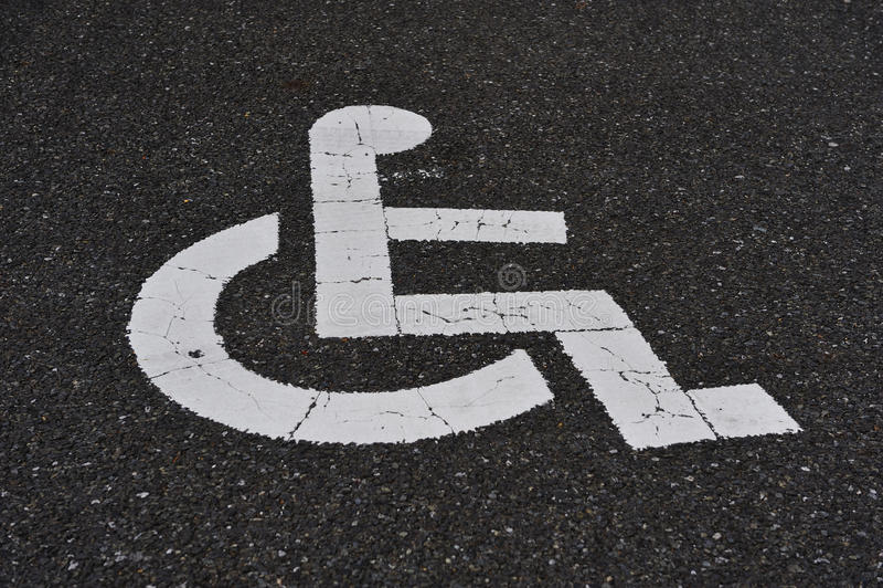 Download Handicap Sign stock illustration. Image of hospital, chair - 25702445