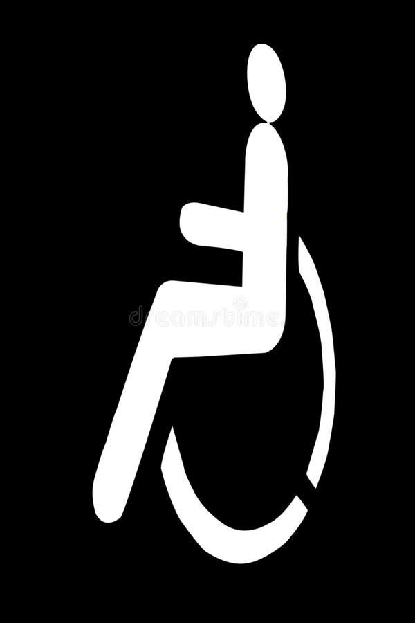 Download Handicap sign stock illustration. Image of design, armchair - 32258266