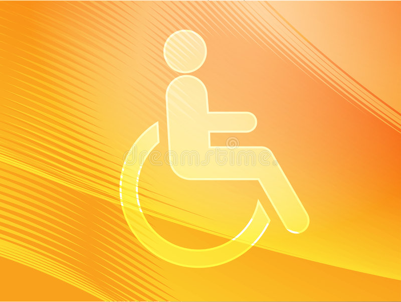 Download Handicap symbol stock illustration. Illustration of sign - 8396229