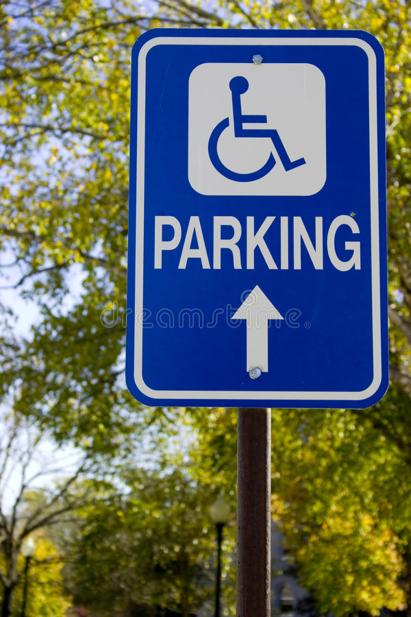 Handicaped royalty free stock photo