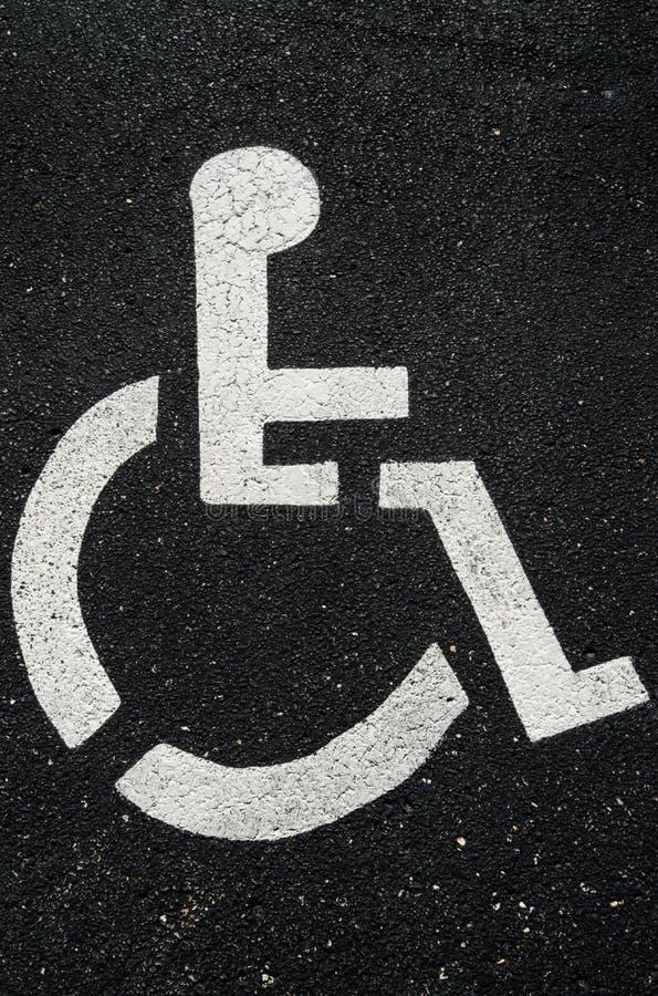 handicapped стоковое изображение