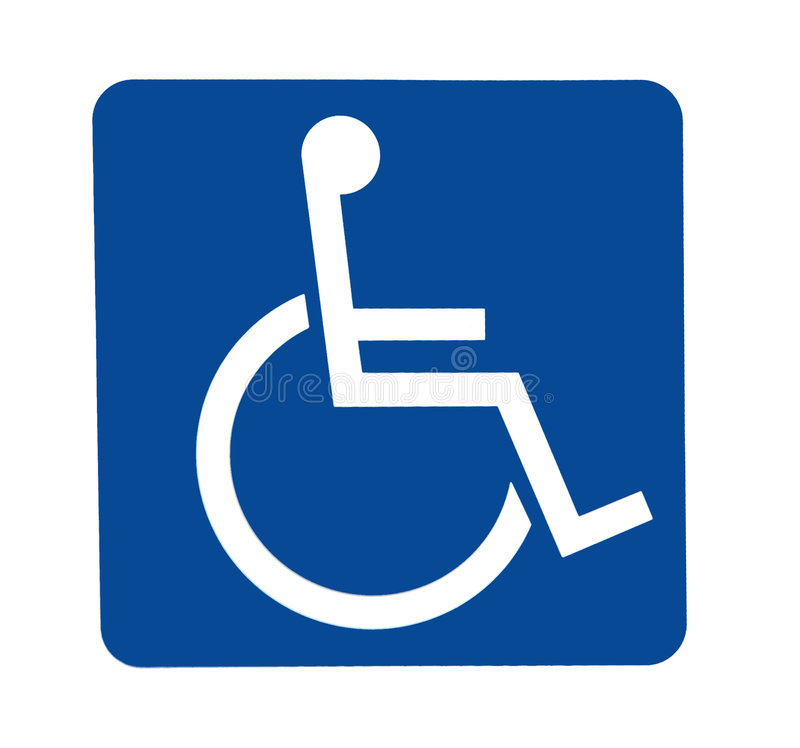 Free Handicapped Sign Stock Photo - 5741660