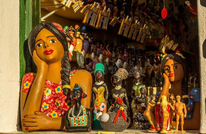 Handicraft from Bahia, Brazil stock photos