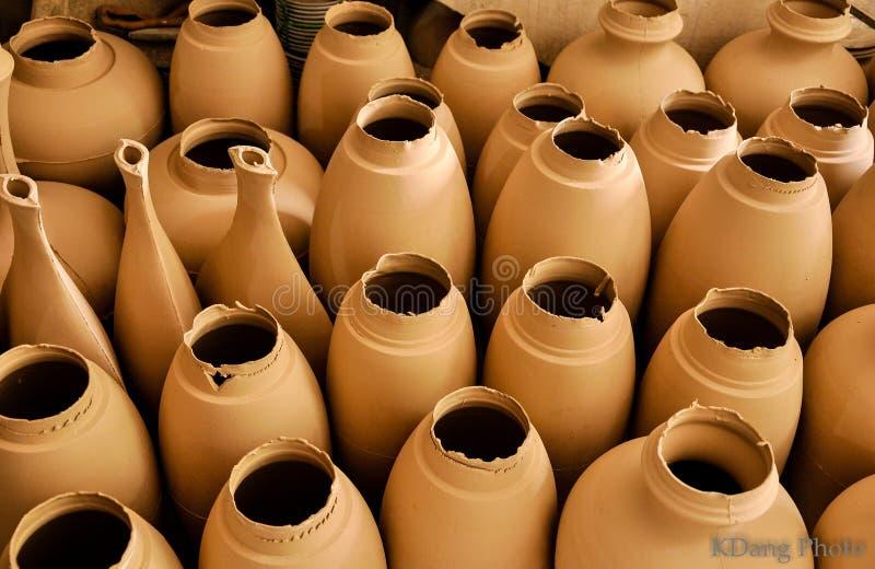 Handicraft Ceramic stock photography