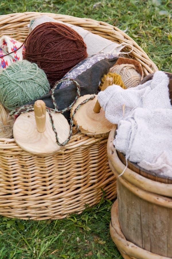 Handicraft Supplies Royalty Free Stock Image