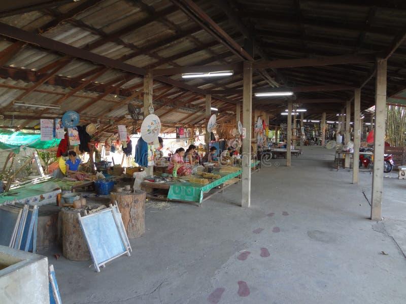 Handicraft Village stock photo