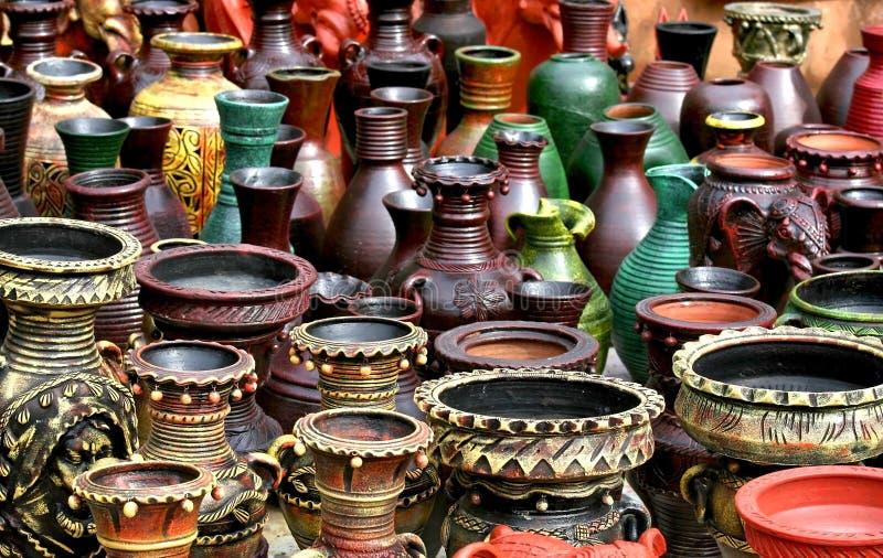 Handicrafts Of India stock image