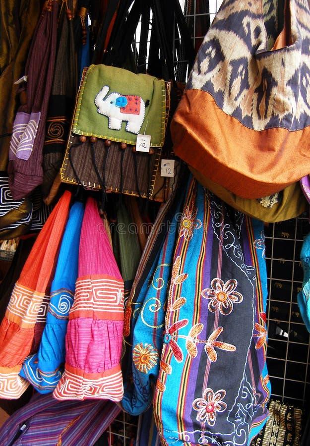 Handicrafts, Thailand night bazaar royalty free stock image