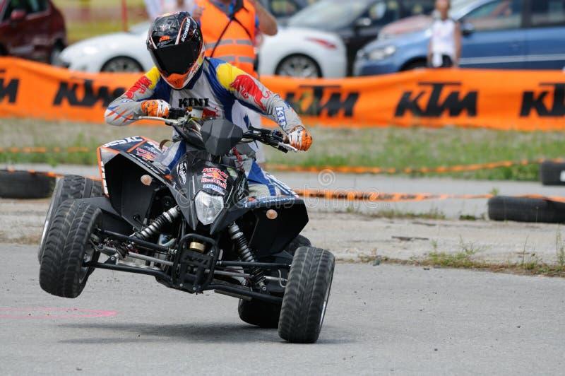 Handikap Motorsports stockfoto