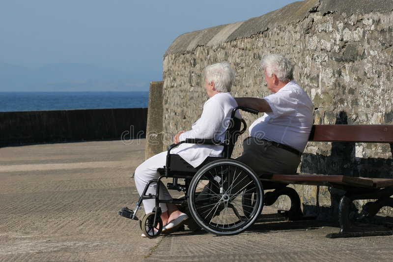 handikapp arkivbild