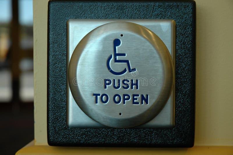 handikapp tillträde arkivbild