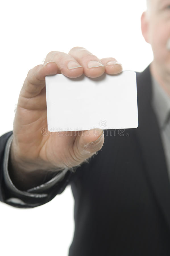Handing out a business card stock image image of empty message business man is handing out a business card colourmoves