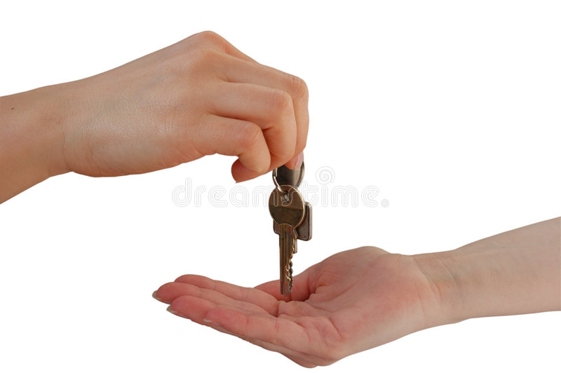Download Handing over the Keys stock photo. Image of clipping, agent - 2202814