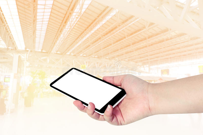 Handinnehavtelefon arkivbild