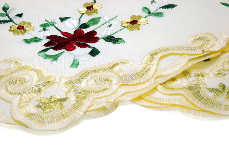 Download Handkerchief Lace stock photo. Image of canvas, grandmother - 12051398