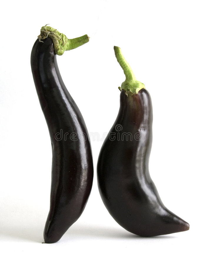 handla aubergine royaltyfria bilder