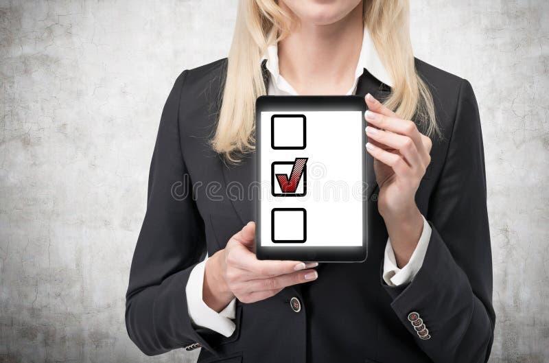 Handlagblock med kontrollfläcken royaltyfri fotografi