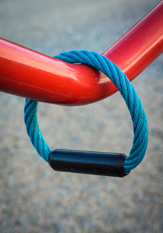 Download Handle on metal bar stock photo. Image of colorful, bent - 26260516