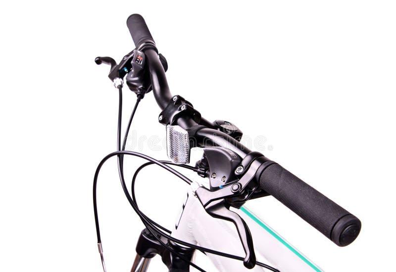 Handlebars bicykl obraz royalty free