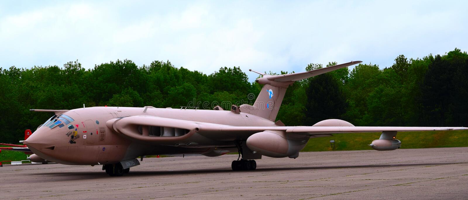Handley Page Victor royalty free stock image