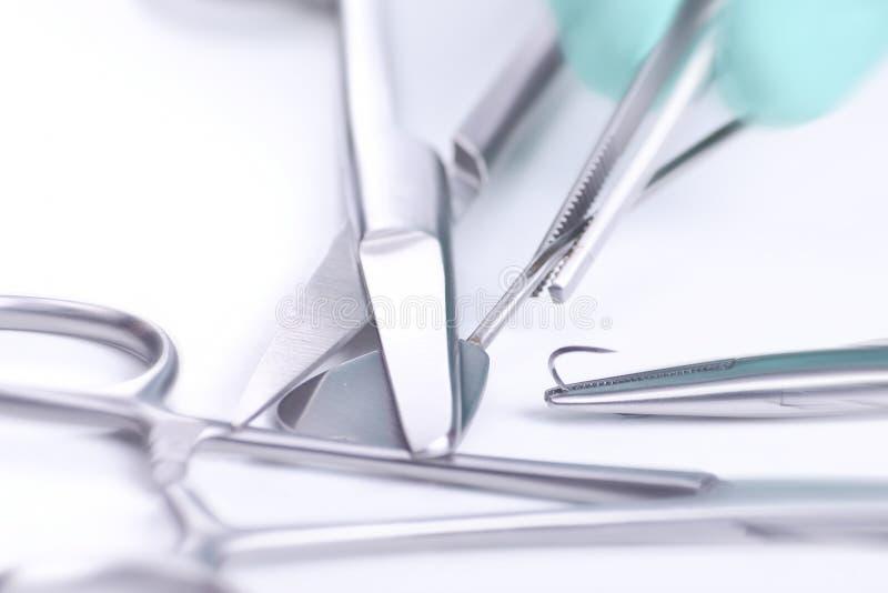 Handling medical instruments royalty free stock image