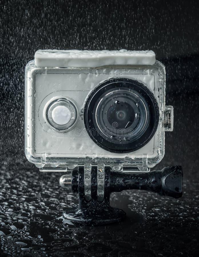 Handlingkamera arkivbild