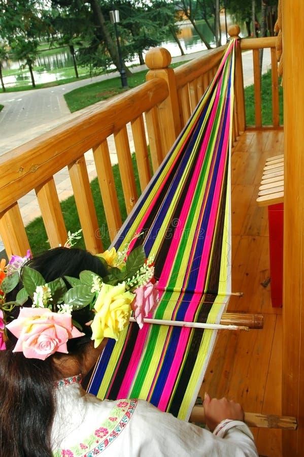 Download Handloom weaving stock photo. Image of fibre, grandmother - 3169474