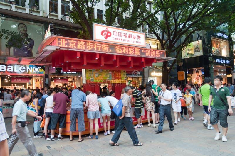 handlowa zwyczajna ulica zdjęcia stock
