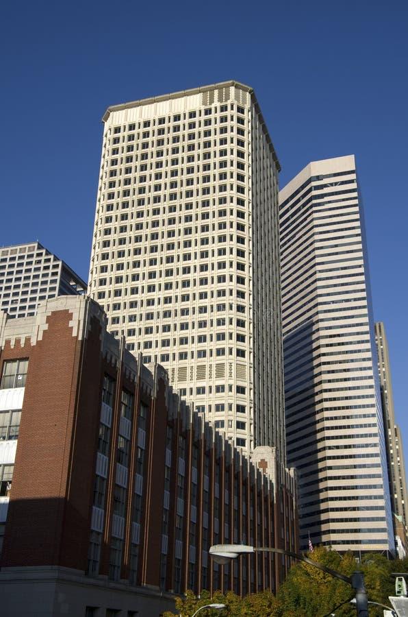 Handlowego biznesu budynki fotografia stock