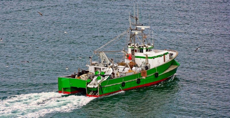 Handlowego połowu trawlera łódź zdjęcia royalty free