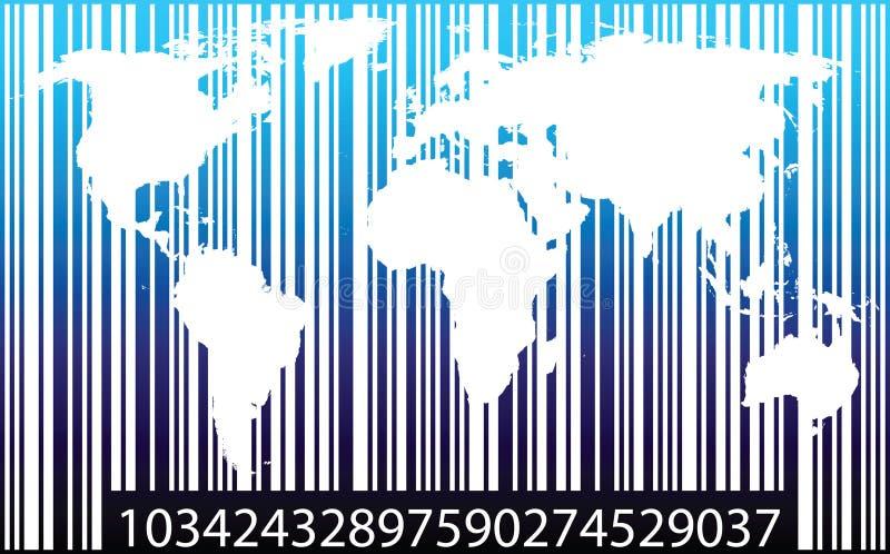 handlowy świat ilustracji