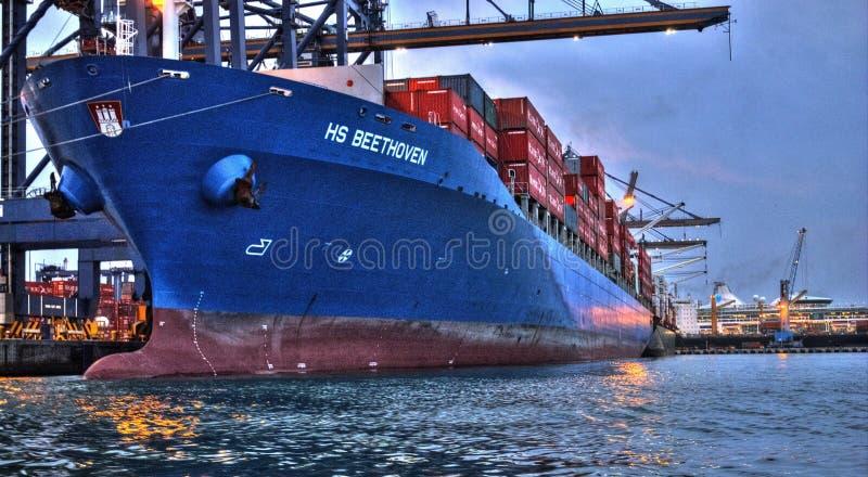 Handlowy statek zdjęcie royalty free