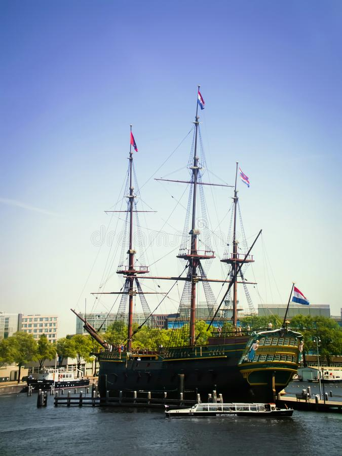 Handlowy statek obraz stock