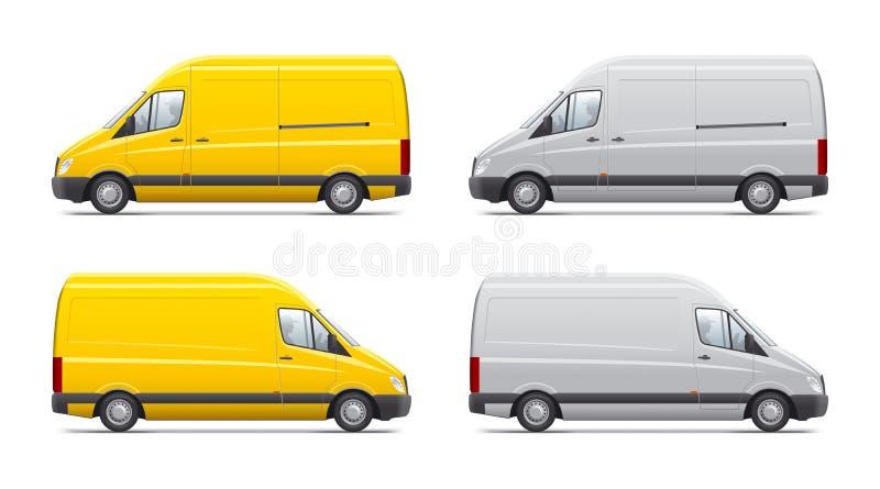 Handlowy transport ilustracja wektor