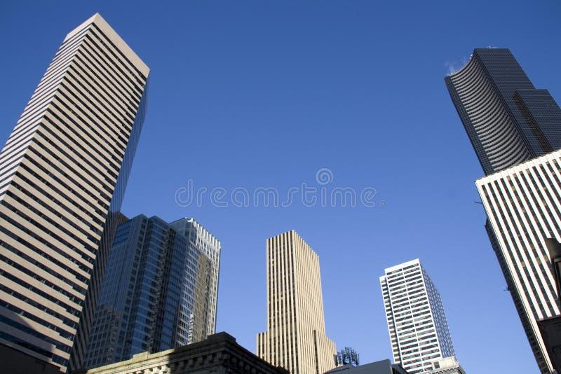 Handlowych własność biznesu budynki obrazy stock
