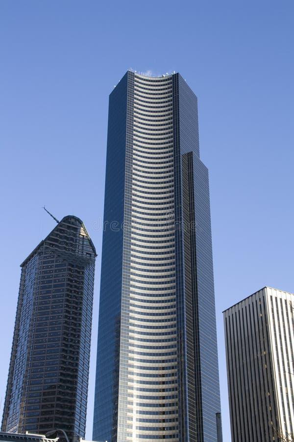 Handlowych własność biznesu budynki zdjęcie stock