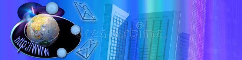 handlu e internetów szeroki świat royalty ilustracja