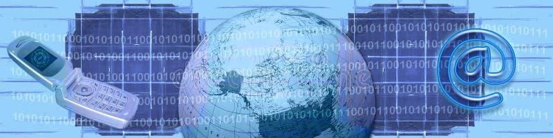 handlu e technologie ww ilustracja wektor