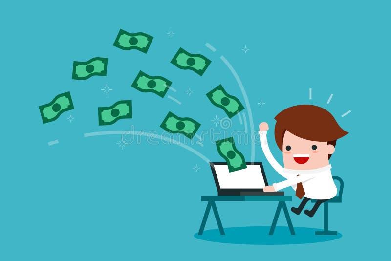 Handlu elektronicznego biznes ilustracja wektor