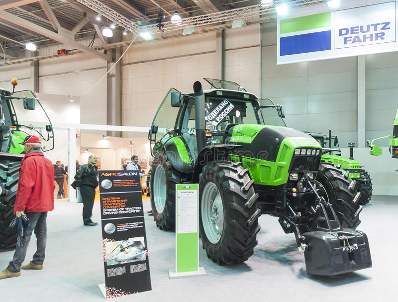 Handlu Międzynarodowego jarmark AGROSALON fotografia stock