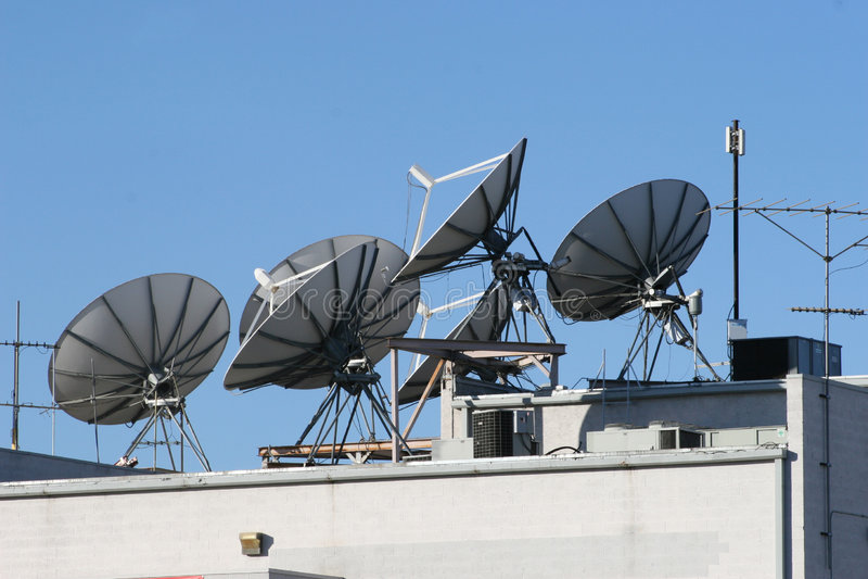 handluje satelity obrazy royalty free