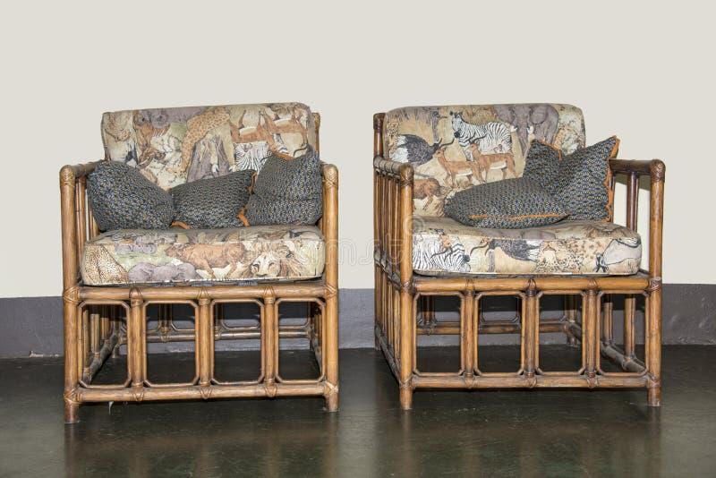 Handmade бамбуковая мебель стоковые фото