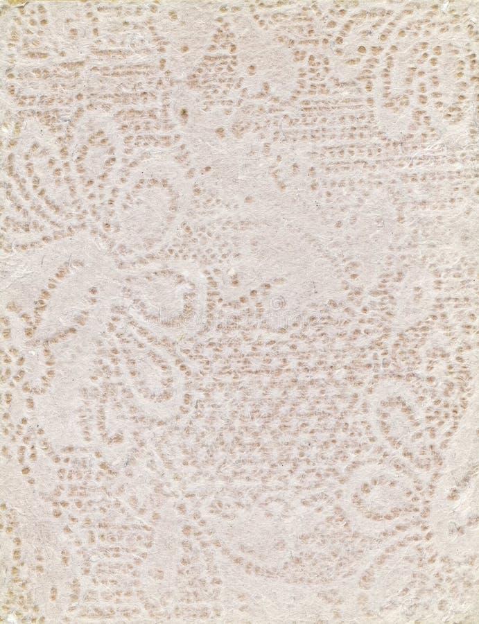 Handmade бумага с цветочным узором Peack стоковые фото