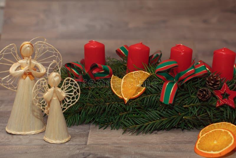 Handmade венки рождества продукции стоковые изображения